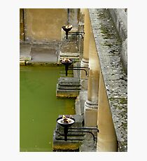 Bathing by torchlight Photographic Print