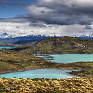 The Lakes of Torres del Paine #1 by Peter Hammer