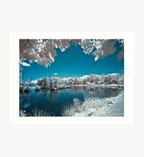 Teeter Pond Dream Art Print