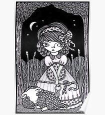 Pouty Miss Peep Poster