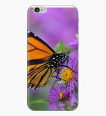 Monarch and Asters iPhone Case