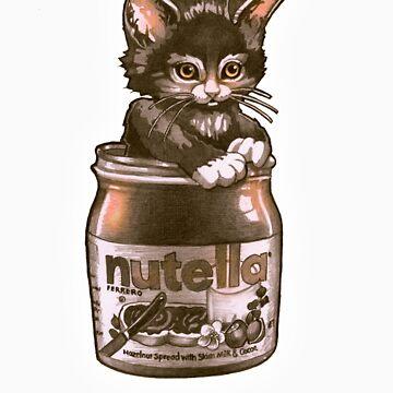 Kitten <3 Nutella by TimShumate