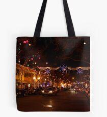 Holiday Streetscape Tote Bag
