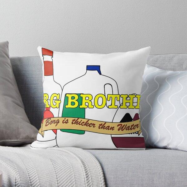 borg Throw Pillow