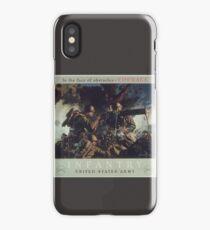 U.S. Infantry Vintage Poster iPhone Case