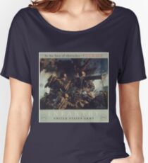 U.S. Infantry Vintage Poster Women's Relaxed Fit T-Shirt