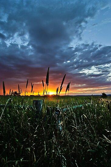 Corner Sunset by orange101