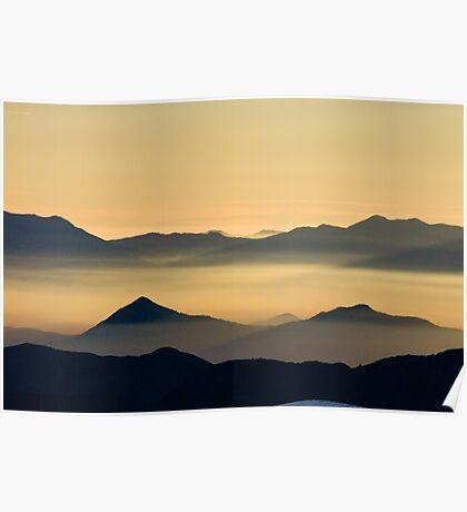 Andean Sunset II Poster
