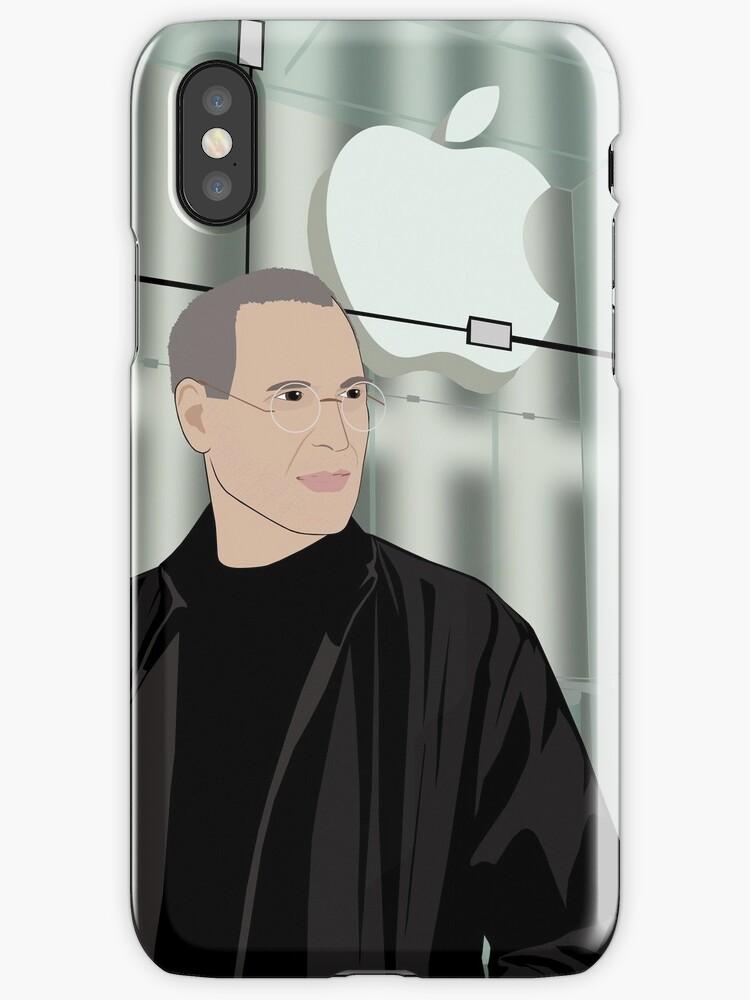 Steve Jobs Portrait by nealcampbell