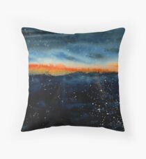 Sunrise from a Plane Throw Pillow