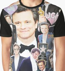 colin firth collage Graphic T-Shirt