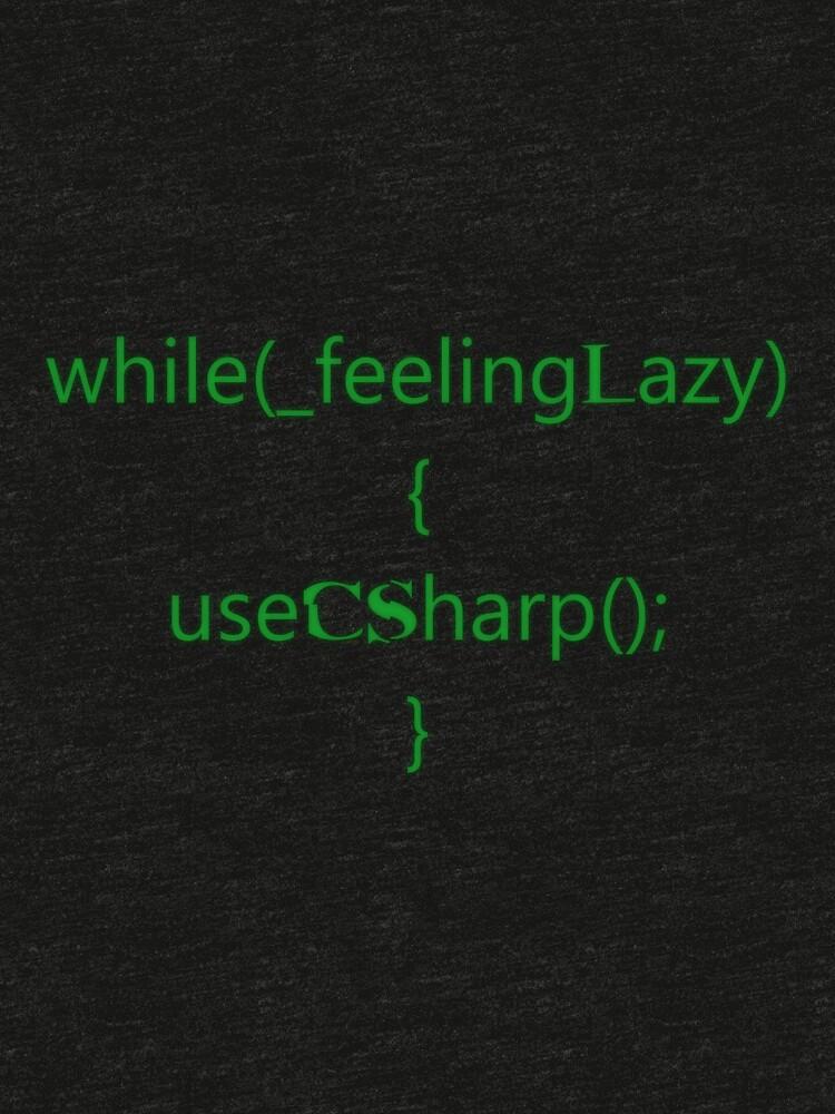 Feeling lazy by neonyourself