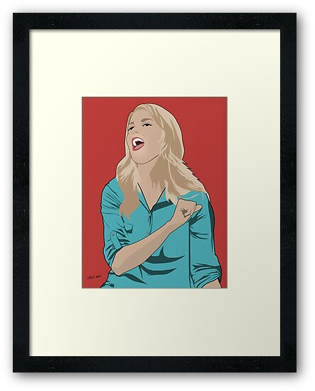 Grace Helbig Portrait by nealcampbell