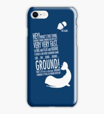 Panicking  iPhone Case/Skin