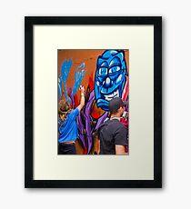 Raw Art Framed Print