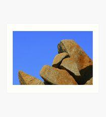 Granite Rocks Art Print