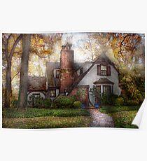 Cottage - Westfield, NJ - Grandma Ridinghoods house Poster