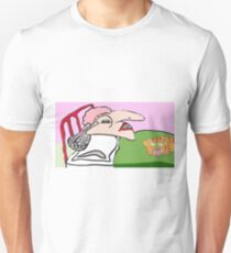 The Noisy Snoring Spinster And Her Unhappy Cat T-Shirt