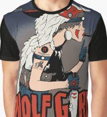 Wolf Girl Graphic T-Shirt