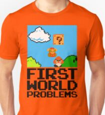 First World Problems (Black) T-Shirt