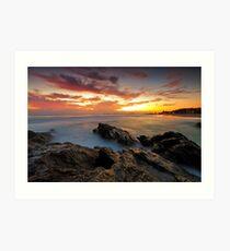 Dawn at the Rocks Art Print