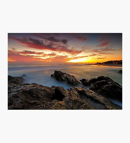 Dawn at the Rocks Photographic Print