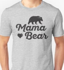 Mama Bär Slim Fit T-Shirt