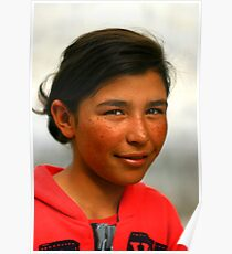girl,tashkurgan, XinJiang, China Poster