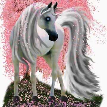 Sakura Horse by NobleImages