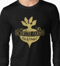 Schrute Farms B&B (no circles) Long Sleeve T-Shirt