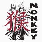 Chinese Zodiac Monkey Year of The Monkey Symbol by ChineseZodiac