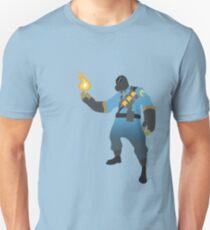 TF2 - BLU Pyro  T-Shirt