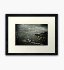 Winter Beach #3 Framed Print