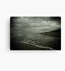 Winter Beach #3 Canvas Print