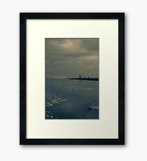 Winter Beach #7 Framed Print