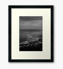 Winter Beach #10 Framed Print
