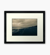 Winter Beach #11 Framed Print
