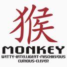 Chinese New Year of The Zodiac Monkey by ChineseZodiac