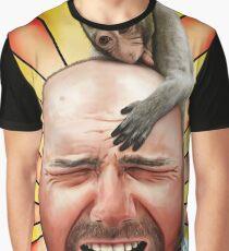 Karl Pilkington Grafik T-Shirt