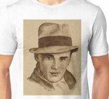Dapper Young Gentlemen in Fedora Unisex T-Shirt