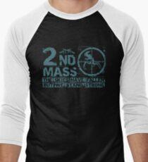 2nd Mass Men's Baseball ¾ T-Shirt