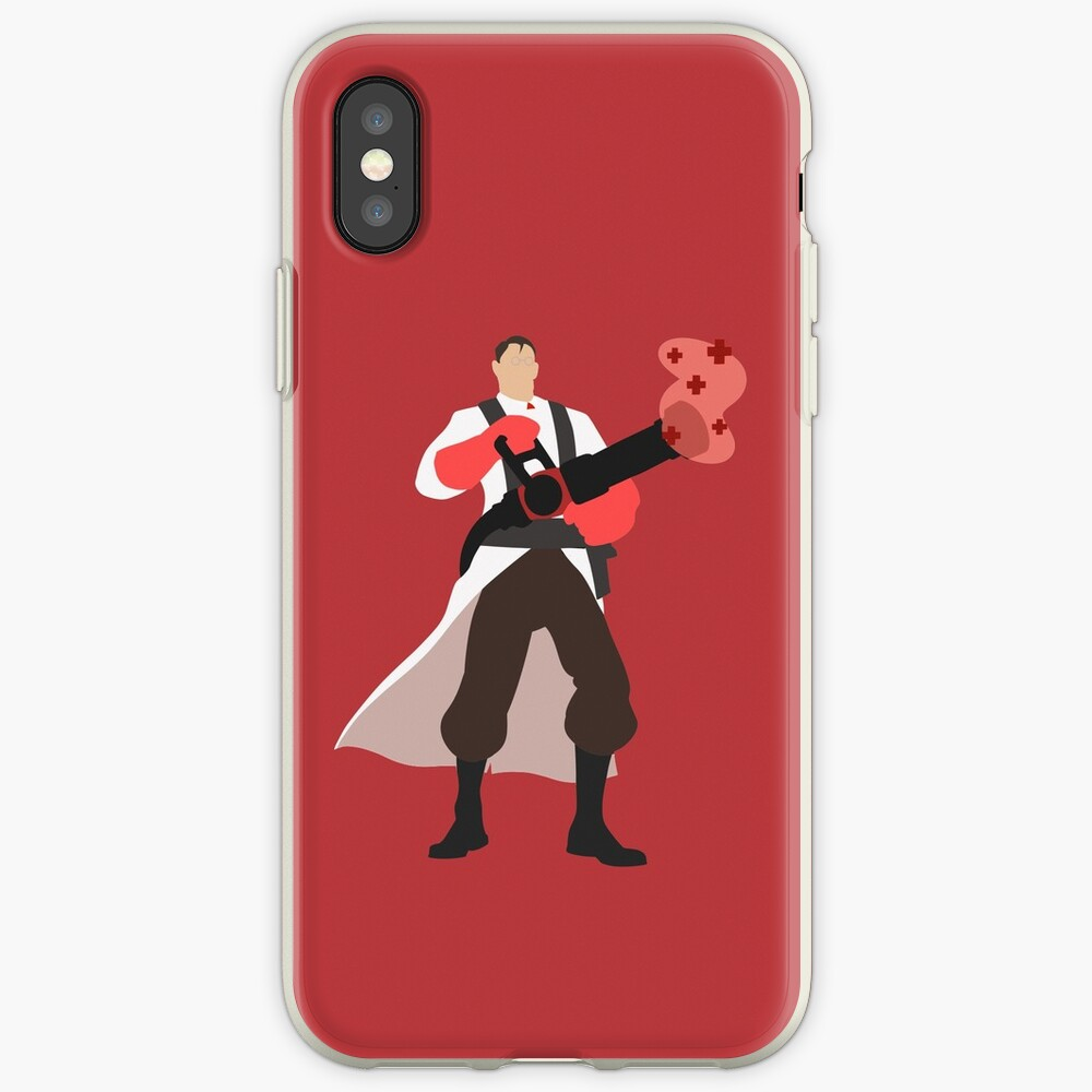 TF2 ROT Medic iPhone-Hülle & Cover