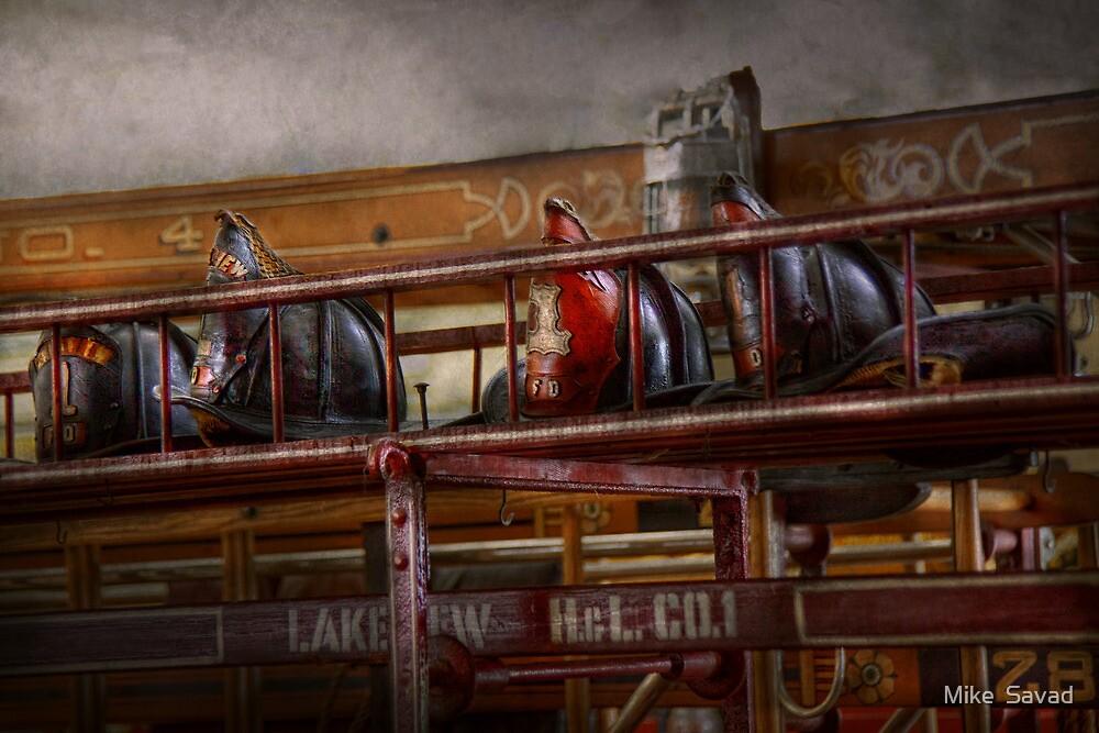 Fireman - Ladder Company 28 by Michael Savad