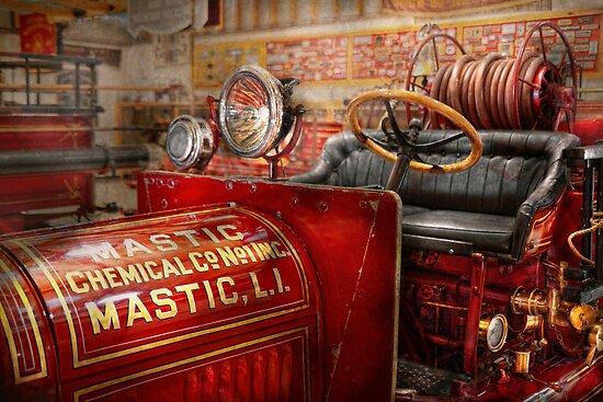 Fireman - Mastic chemical co by Michael Savad