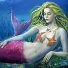 maroon Mermaid by dashinvaine