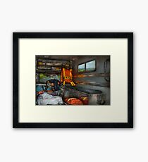 Rescue - Emergency Squad  Framed Print