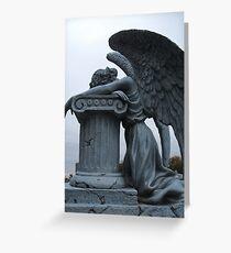Lonely Angel Grußkarte