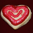 Heart Valentine Cookie by Jonice