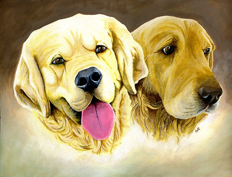 Two Dogs by Robert Hutchinson