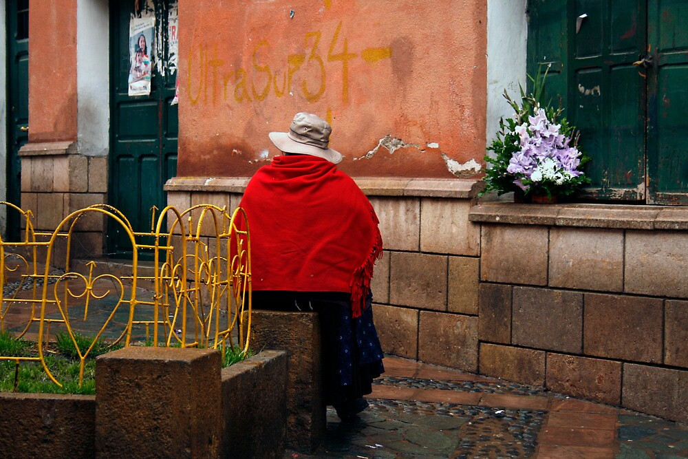 People 4243  Sucre, Bolivia by Mart Delvalle